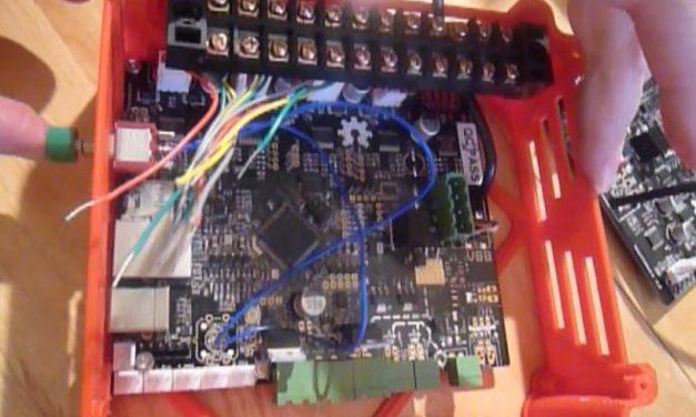 Préparation câblage boitier smoothieboard