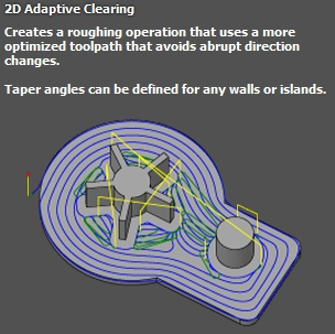 2D-ADAPTATIVE-CLEARING