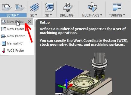 create-setup-fusion-360