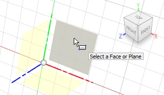 select-face-to-drawing