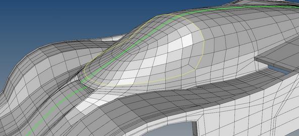 Créer des surfaces T-spline à partir d'un fichier STL maillé