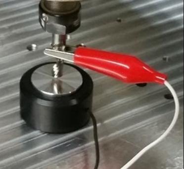 Capteur outil boucle électrique