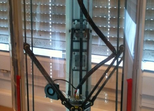 Imprimante 3D Delta Spiderbot