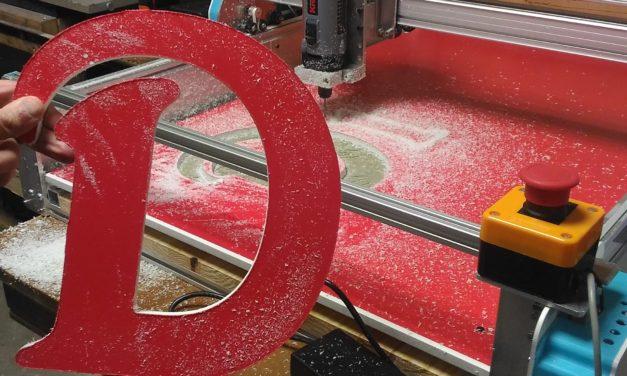 Fabrication d'une CNC Formosa 1000 pour un enseigniste