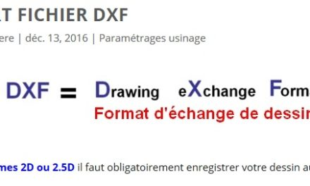 Import fichier DXF