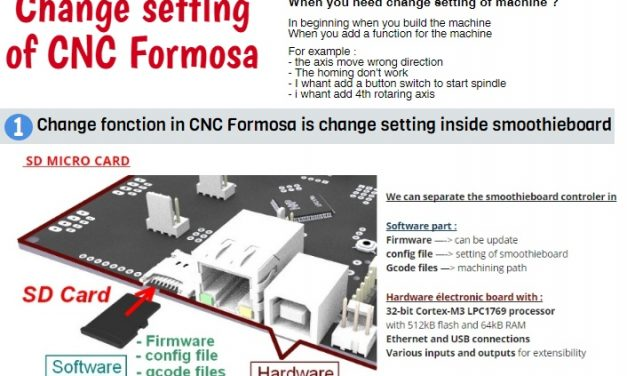 4 – Change setting of CNC Formosa