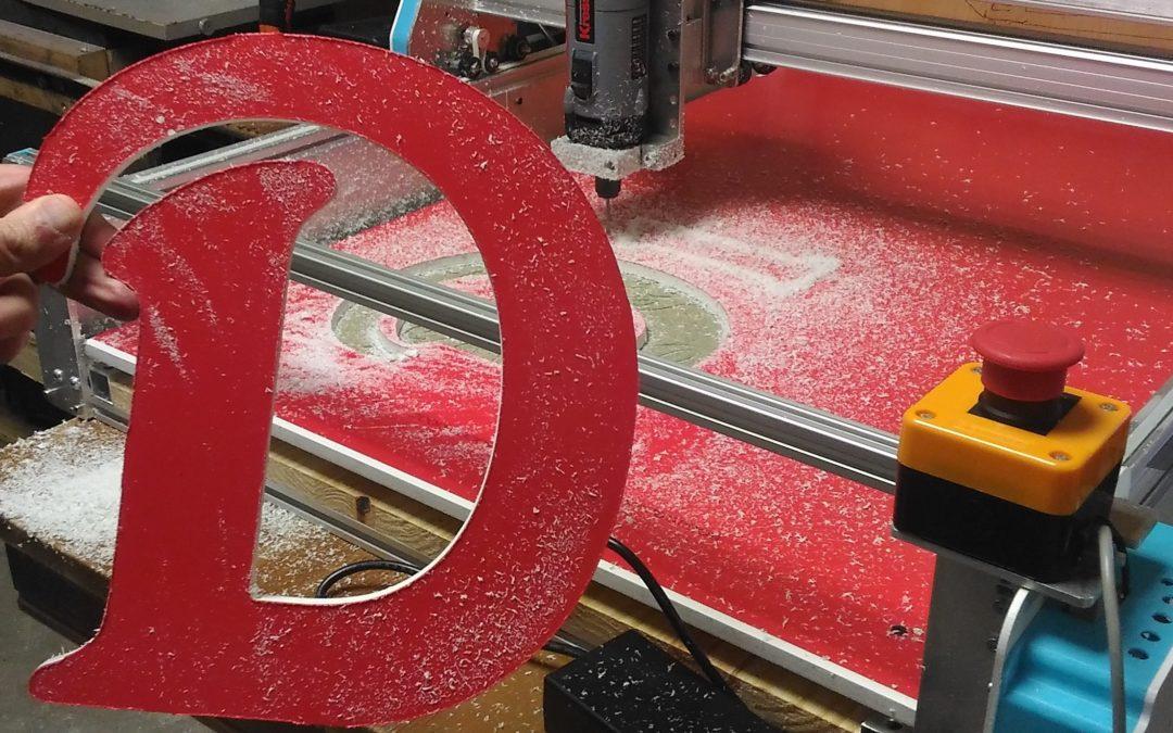 (Fr) Fabrication et montage d'une CNC Formosa 1000 pour un enseigniste